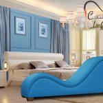Ghế tình yêu màu xanh ngọc