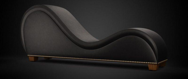 ghế tình nhân Màu đen 2